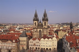 Czech Republic, Prague, Old Town Square, Church of Our Lady before Tyn Photographic Print by Neale Clarke