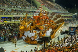 Samba Parade at the Carnival in Rio De Janeiro, Brazil, South America Photographic Print by Michael Runkel