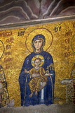 Mosaic of the Virgin and Child Photographic Print by Neil Farrin