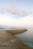 The Cobb at Sunset, Lyme Regis, Dorset, England, United Kingdom, Europe Photographic Print by John Woodworth