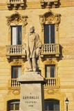 Garibaldi Statue (1890), Trapani, Sicily Photographic Print by Ken Gillham