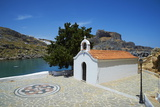 St. Paul Beach, Lindos, Rhodes, Dodecanese, Greek Islands, Greece, Europe Photographic Print by  Tuul