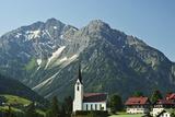 Hirschegg, Kleines Walsertal, Austria, Europe Photographic Print by Jochen Schlenker