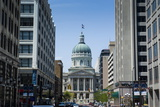 Indiana Statehouse, the State Capitol Building, Indianapolis Photographic Print by Michael Runkel