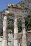 The Tholos, a Circular Building Created Between 380 and 360 BC at Athena Pronaia Sanctuary Centre Reproduction photographique par Jean-Pierre De Mann