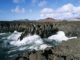 Los Hervideros, El Golfo, Lanzarote, Canary Islands, Spain, Atlantic, Europe Photographic Print by Stuart Black