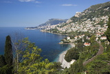 View Along Roquebrune Bay to Monte Carlo Photographic Print by Stuart Black
