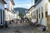 Street Scene, Paraty, Rio De Janeiro State, Brazil, South America Photographic Print by Gabrielle and Michael Therin-Weise