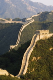 Great Wall of China at Badaling Photographic Print by Christian Kober