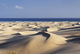 Panorama of the Sand Dunes of Maspalomas Photographic Print by Markus Lange