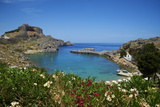 St. Paul Beach. Lindos, Rhodes, Dodecanese, Greek Islands, Greece, Europe Photographic Print by  Tuul