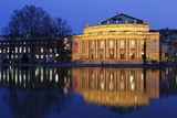 Staatstheater (Stuttgart Theatre and Opera House) at Night Photographic Print by Markus Lange