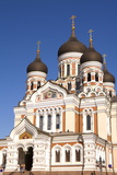 Facade of the Alexander Nevsky Church, Tallinn, Estonia, Europe Photographic Print by Doug Pearson