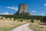 Devils Tower National Monument, Wyoming, United States of America, North America Photographic Print by Michael Runkel