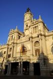 Town Hall, Plaza Del Ayuntamiento, Valencia, Spain, Europe Photographic Print by Neil Farrin