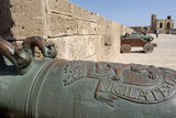 Old Cannons, Skala of the Kasbah a Mighty Crenellated Bastion, 300 Metres in Length Reproduction photographique par Jean-Pierre De Mann