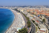 Baie Des Anges and Promenade Anglais Reproduction photographique par Amanda Hall
