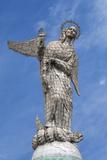Virgin Mary De Quito Statue, El Panecillo Hill, Quito, Pichincha Province, Ecuador, South America Fotografie-Druck von Gabrielle and Michael Therin-Weise