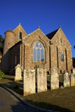 St. Brelade's Church and Fisherman's Chapel, St. Brelade's Bay, Jersey, Channel Islands, Europe Photographic Print by Neil Farrin