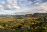 Vinales Valley, UNESCO World Heritage Site, Bathed in Early Morning Sunlight Photographic Print by Lee Frost