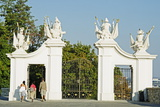 Gate at Bratislava Castle, Bratislava, Slovakia, Europe Photographic Print by Christian Kober