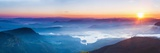 Adams Peak (Sri Pada) View at Sunrise Fotografisk trykk av Matthew Williams-Ellis