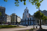 Downtown Buenos Aires, Argentina, South America Photographic Print by Michael Runkel
