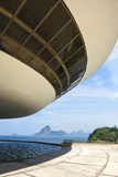 Niemeyer Museum of Contemporary Arts Photographic Print by Gabrielle and Michael Therin-Weise