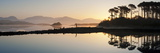 Derryclare Lough at Dawn, Connemara, County Galway, Connacht, Republic of Ireland, Europe Photographic Print by Ben Pipe