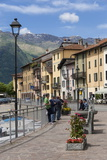 Sunday Morning Meeting, Domaso, Italian Lakes, Lombardy, Italy, Europe Photographic Print by James Emmerson