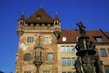 Nassau House, Nuremberg, Bavaria, Germany, Europe Photographic Print by Neil Farrin