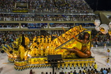 Samba Parade at the Carnival in Rio De Janeiro, Brazil, South America Photographie par Michael Runkel