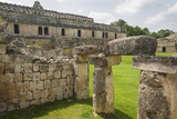 Mayan Ruins at Kabah in the Yucatan, Mexico, North America Photographic Print by John Woodworth