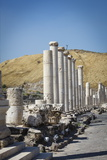 Ruins of the Roman-Byzantine City of Scythopolis Photographic Print by Yadid Levy