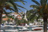 Splitska Harbour, Brac Island, Dalmatian Coast, Croatia, Europe Photographic Print by John Miller