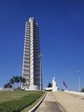 Jose Marti Monument, Plaza De La Revolucion, Havana, Cuba Photographic Print by Robert Harding
