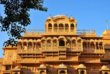Jaisalmer Raj Mahal (Royal Palace), Jaisalmer, Rajasthan, India, Asia Photographic Print by  Godong