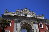 The Main Gate, Dolmabahce Palace, Istanbul, Turkey Photographic Print by Neil Farrin