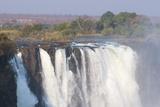 Victoria Falls, UNESCO World Heritage Site, Zimbabwe, Africa Fotografisk tryk af Sergio Pitamitz