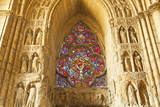 High Relief Sculptures Inside Notre Dame De Reims Cathedral Photographic Print by Julian Elliott