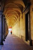 Arcade in the Old City, Bologna, Emilia-Romagna, Italy, Europe Photographie par Bruno Morandi
