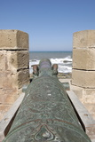 Old Cannon, Skala of the Kasbah a Mighty Crenellated Bastion, 300 Metres in Length Reproduction photographique par Jean-Pierre De Mann