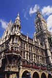 Gothic Town Hall, Munich, Bavaria, Germany Photographic Print by Ken Gillham