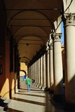 Arcade in the Old City, Bologna, Emilia-Romagna, Italy, Europe Photographic Print by Bruno Morandi