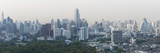 Panoramic View of the City Skyline from the Roofbar of the Sofitel So Hotel on North Sathorn Road Photographic Print by Lee Frost