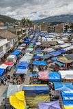 Otavalo Market, Imbabura Province, Ecuador, South America Photographic Print by Gabrielle and Michael Therin-Weise