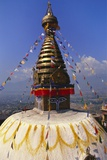 Swayambhunath Temple, Kathmandu, Nepal Photographic Print by Alison Wright