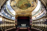 Interior of Teatro Tomas Terry Photographic Print by Lee Frost