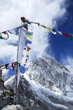 Summit of Kala Patthar Looking to Pumo Ri Photographic Print by Peter Barritt