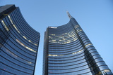 Modern Building, Gae Aulenti Square, Milan, Lombardy, Italy, Europe Photographic Print by Vincenzo Lombardo